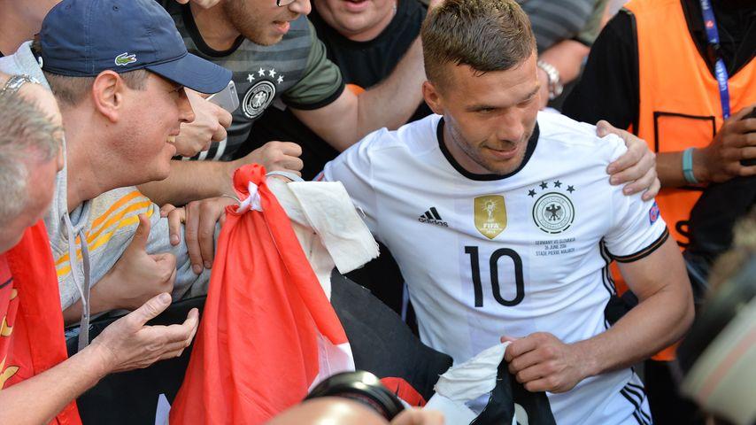 Lukas Podolski bei der Fussball-EM 2016