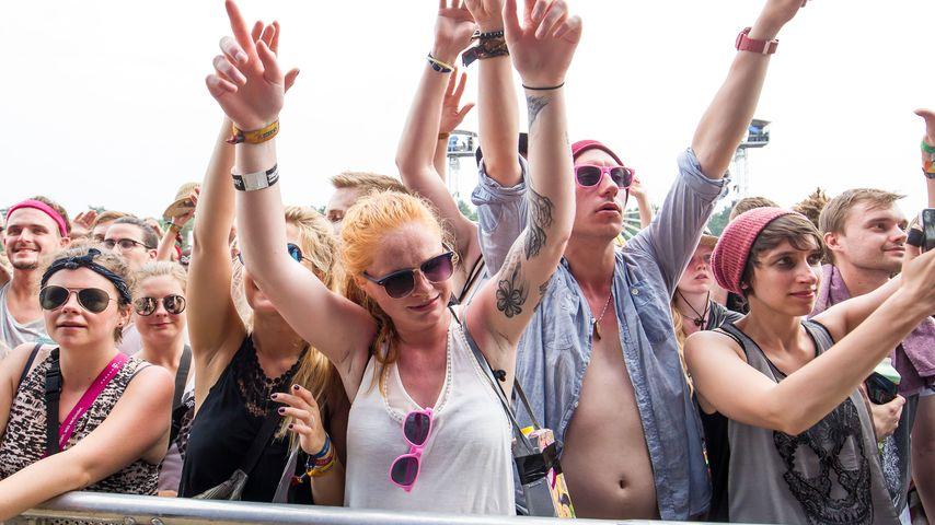 Fans beim Hurricane Festival in Scheeßel