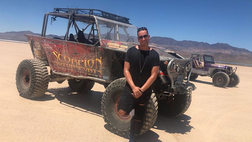 Illusionist Farid in der Wüste