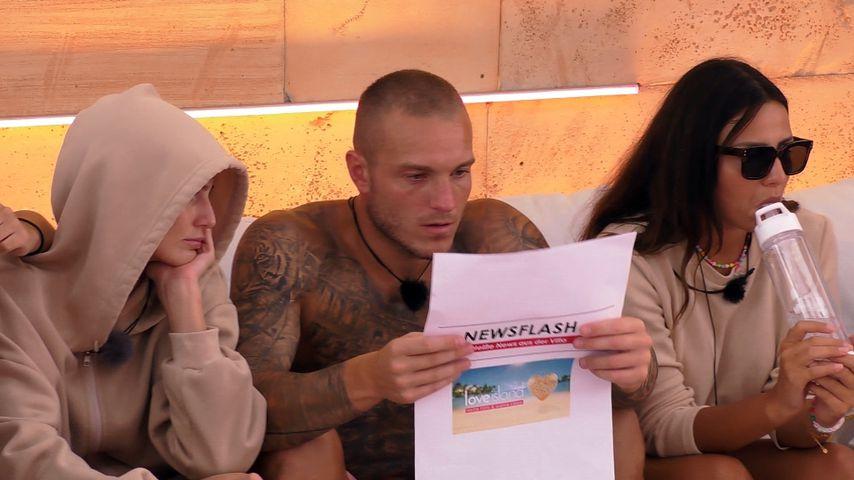 "Farnziska, Martin und Angelina bei ""Love Island"""