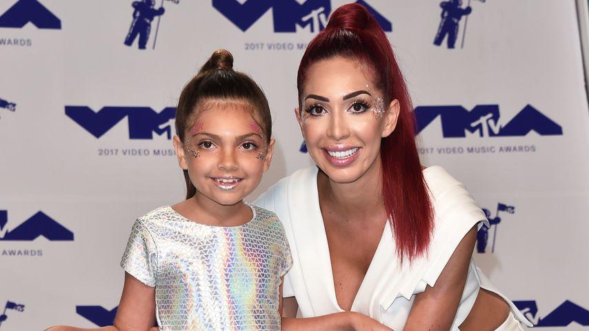 Farrah Abrahams und ihre Tochter Sophia bei den MTV Video Music Awards 2017