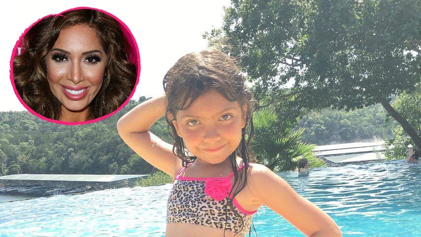 Schlechte Mama? Farrah Abrahams Tochter (6) modelt im Bikini