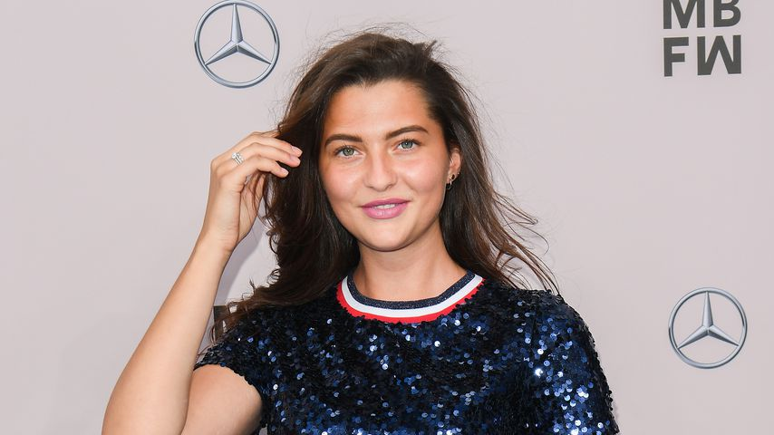 Fata Hasanović bei der Berlin Fashion Week