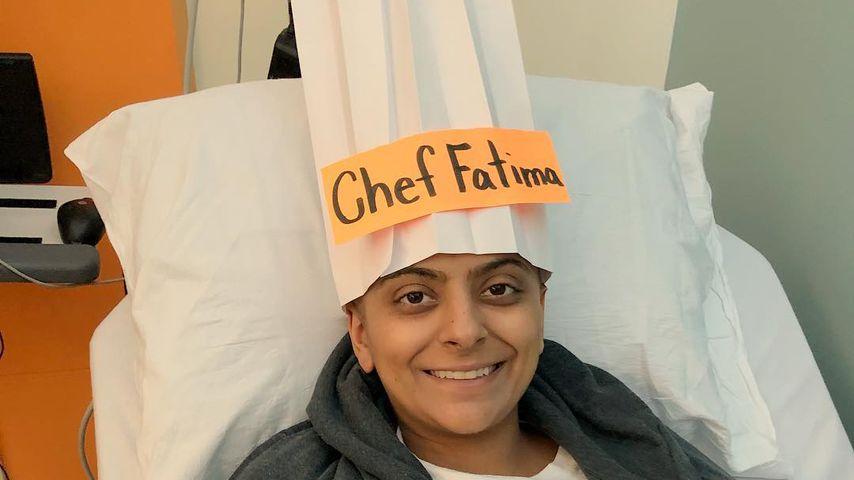 Fatima Ali im Krankenhaus, Januar 2017