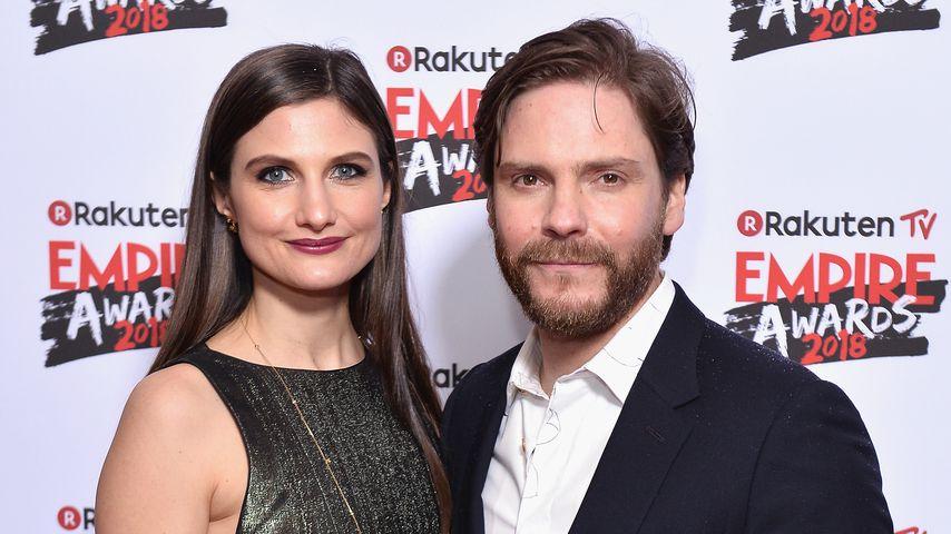 Felicitas Rombold und Daniel Brühl auf den Rakuten TV Empire Awards 2018