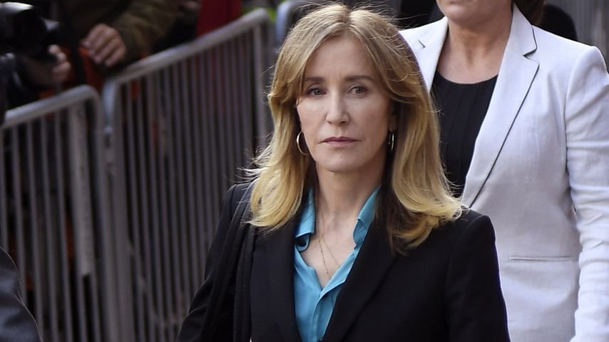 Felicity Huffman in Boston im April 2019