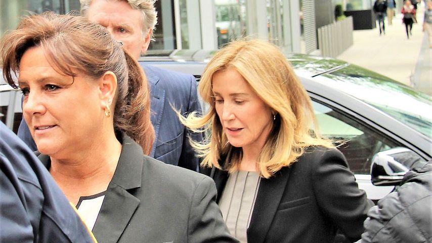 Felicity Huffman vor dem Gerichtsgebäude in Boston, Mai 2019