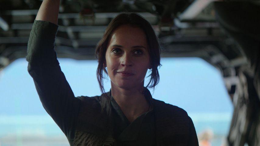 "Felicity Jones in ""Rogue One – A Star Wars Story"""