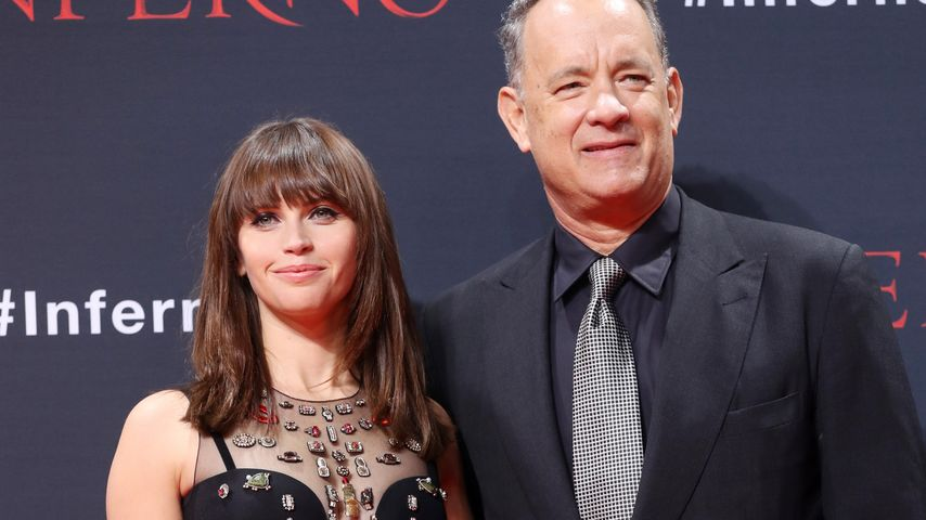 Total relaxt! Darum bewundert Felicity Jones Tom Hanks