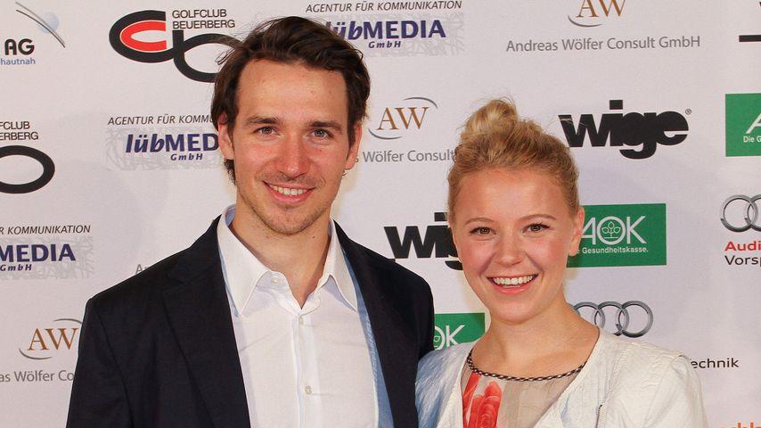Felix Neureuther und Miriam Gössner bei der Friends for Kids Gala 2014