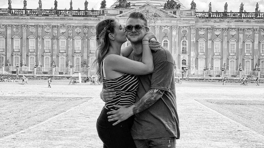 Felix van Deventer mit seiner Partnerin Antje