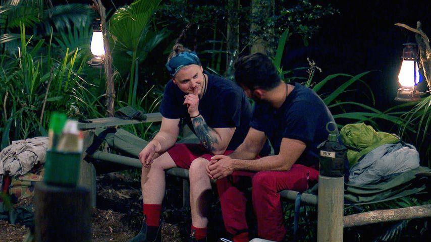 Felix van Deventer und Domenico De Cicco im Dschungelcamp 2019, Tag 4