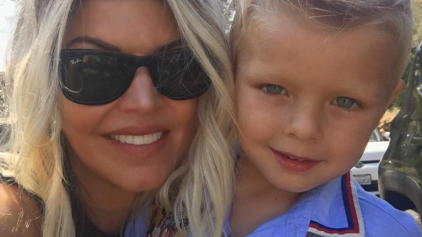 Fergie und ihr Sohn Axl
