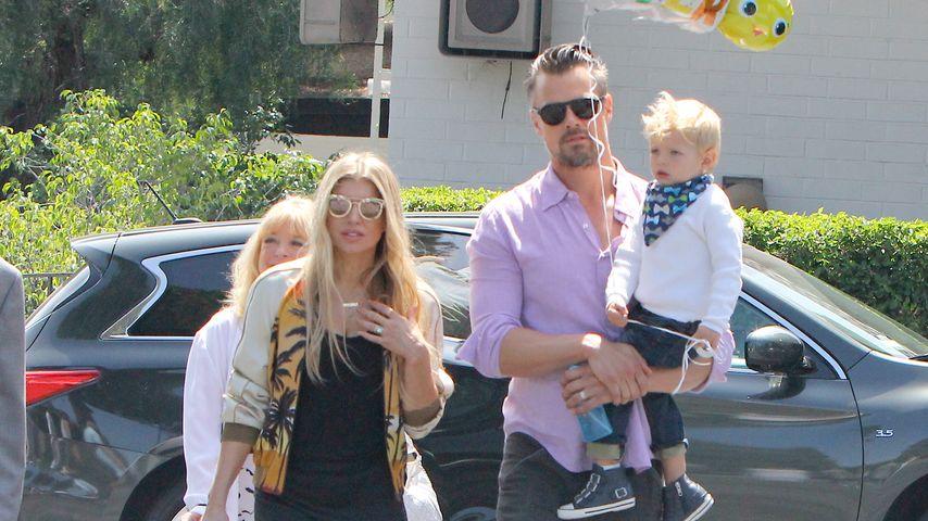 Fergie und Josh Duhamel mit ihrem Sohn Axl