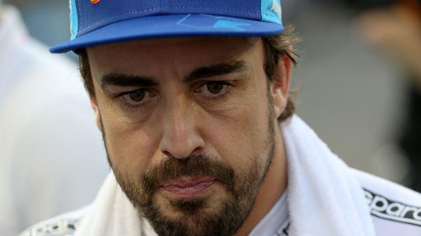 Fernando Alonso im November 2018 in Abu Dhabi