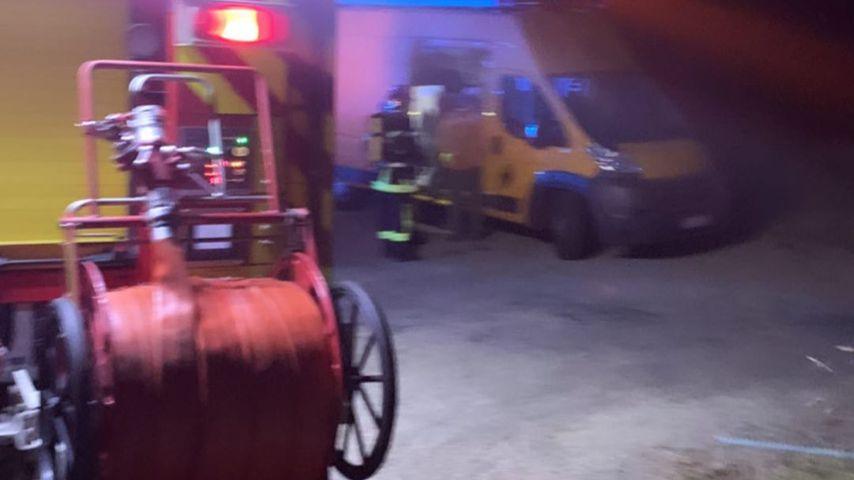 Feuerwehreinsatz bei Yvonne Pferrer