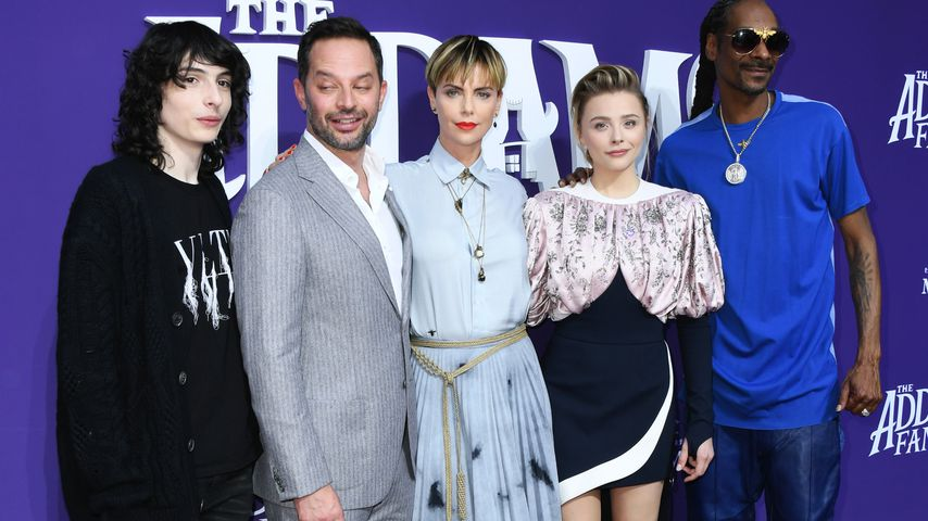 Finn Wolfhard, Nick Kroll, Charlize Theron, Chloë Grace Moretz und Snoop Dogg
