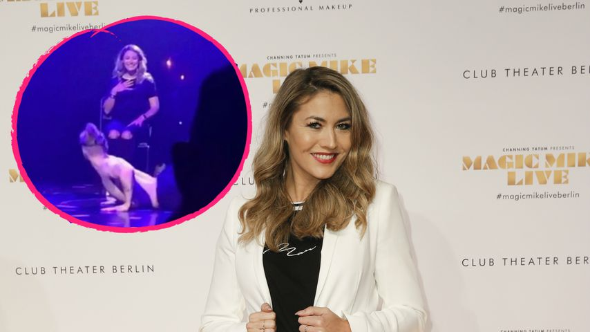 """""""Magic Mike Live"""": Fiona Erdmann von Stripper verwöhnt!"""