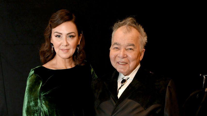 John Prine mit seiner Frau Fiona, Januar 2020