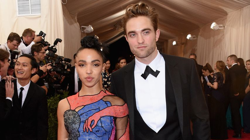 FKA Twigs und Robert Pattinson, Met Gala 2015