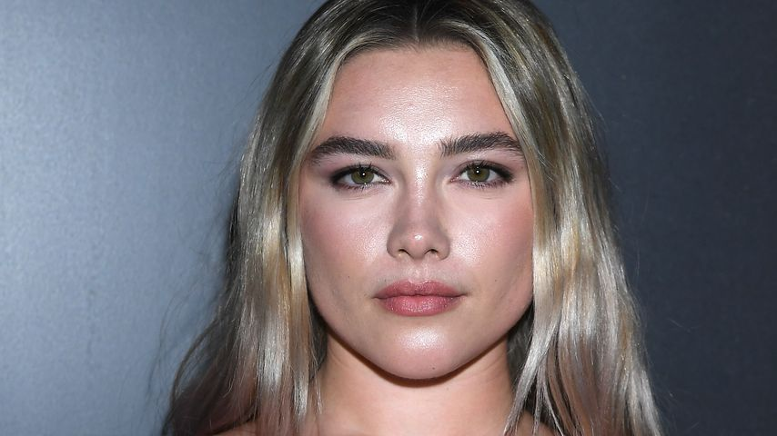 Florence Pugh auf der Paris Fashion Week, 2020