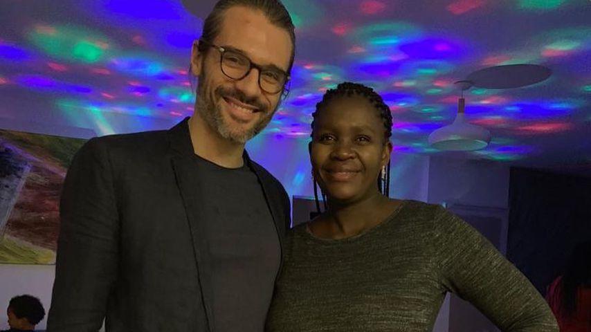 Florent Raimond und seine Freundin Kaone Mabina im Januar 2021