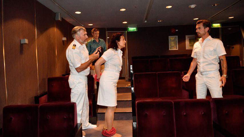 Florian Silbereisen und sein Team auf dem Traumschiff, Januar 2020