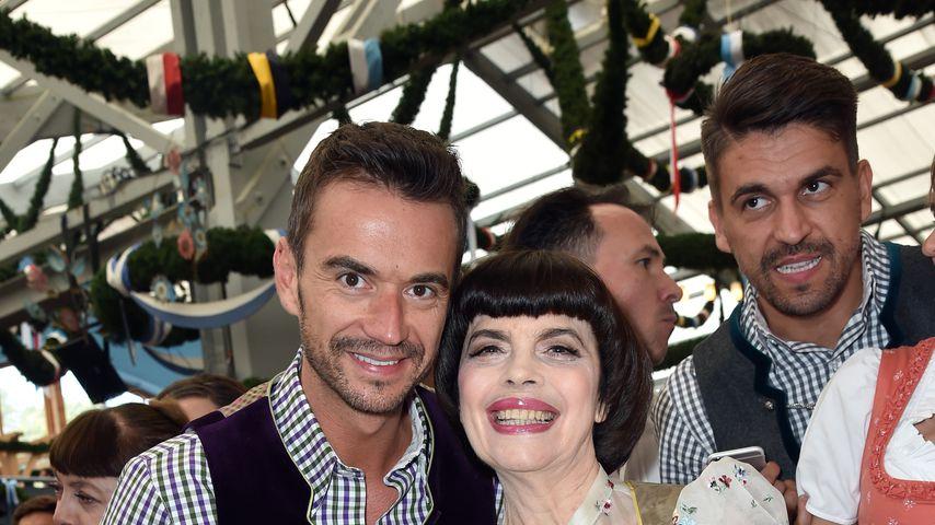Florian Silbereisen und Mireille Mathieu auf dem Oktoberfest 2015