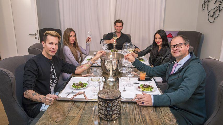 "Florian Wess, Gina-Lisa Lohfink, Alexander ""Honey"" Keen, Nicole Mieth und Markus Majowski"