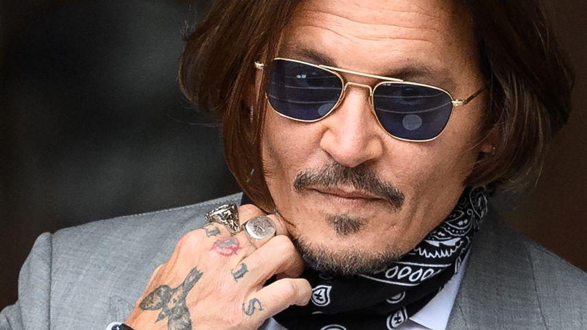 """Fluch der Karibik""-Star Johnny Depp, 2020"