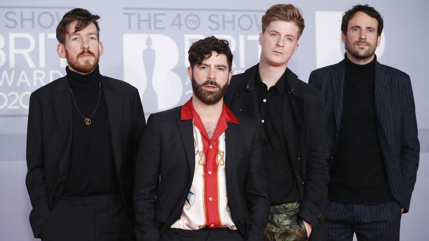 Foals bei den Brit Awards 2020