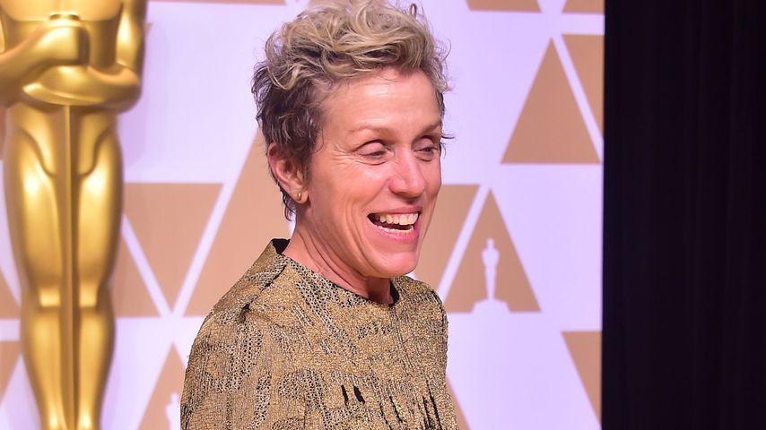 Unverstellt bei Oscars: Francis McDormand wieder Make-up-los
