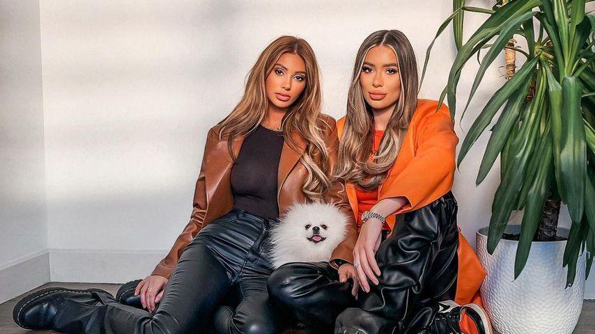 Francesca Farago und Demi Sims, Reality-Stars