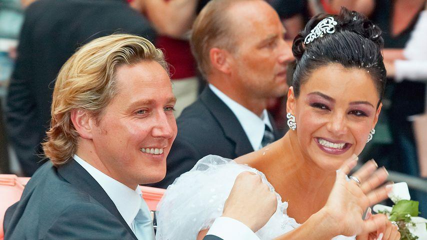 Franjo und Verona Pooth bei ihrer Hochzeit im Jahr 2005