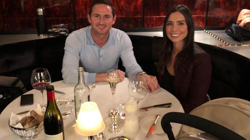 Frank und Christine Lampard im März 2019