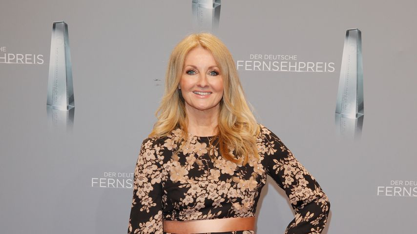 Frauke Ludowig beim Deutschen Fernsehpreis 2018