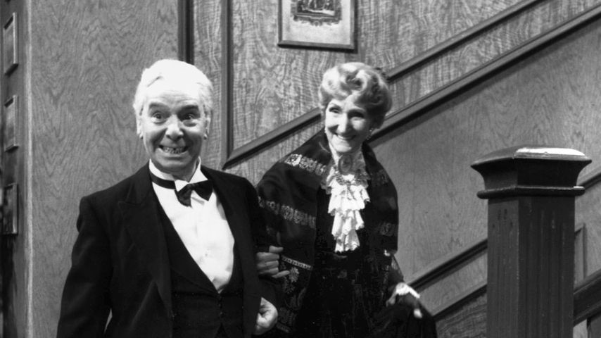 "Freddie Frinton und May Warden in ""Dinner For One"""