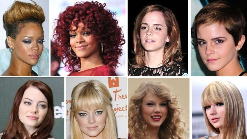 Wer hatte die beste Frisuren-Veränderung 2010?