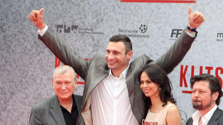 Vitali Klitschko und Fritz Sdunek
