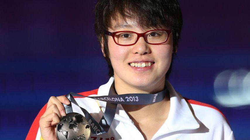 Fu Yuanhui bei den Schwimm-Meisterschaften in Barcelona
