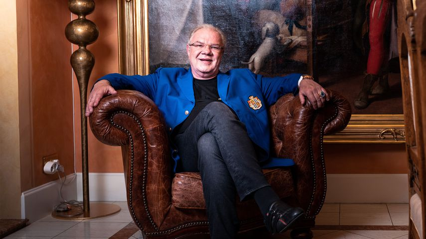 """Fürst Heinz von Sayn-Wittgenstein bei """"Promis auf Hartz IV"""""""