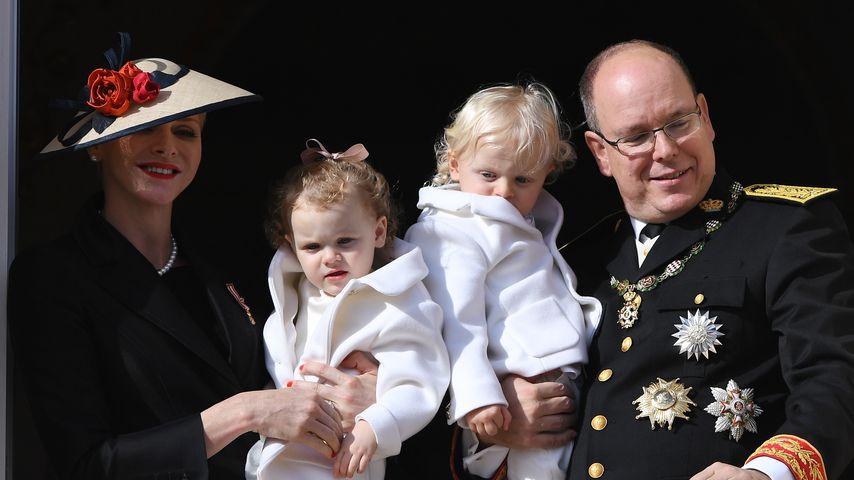 Fürstin Charlène: Ihre Zwillinge sind wie Pech und Schwefel!