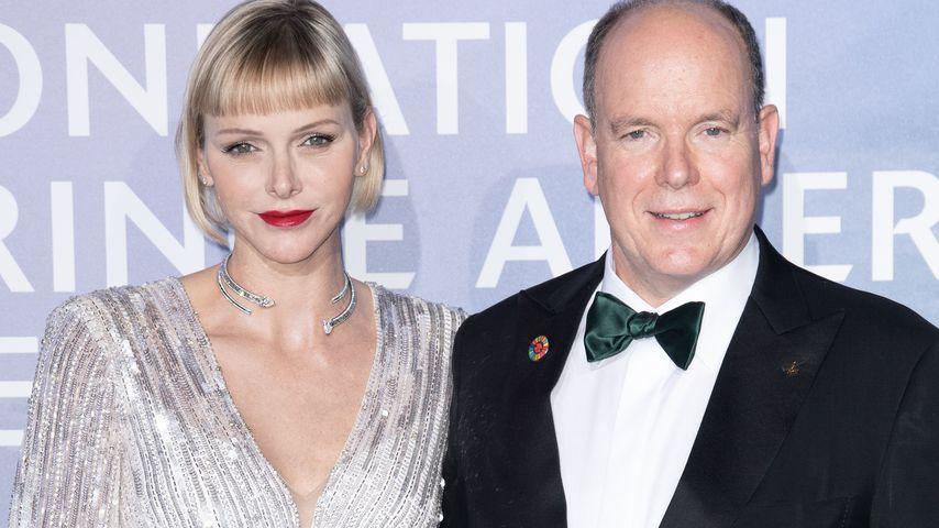 Fürstin Charlène und Fürst Albert von Monaco im September 2020
