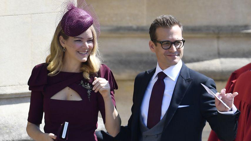 Gabriel Macht mit Jacinda Barrett am Schloss Windsor