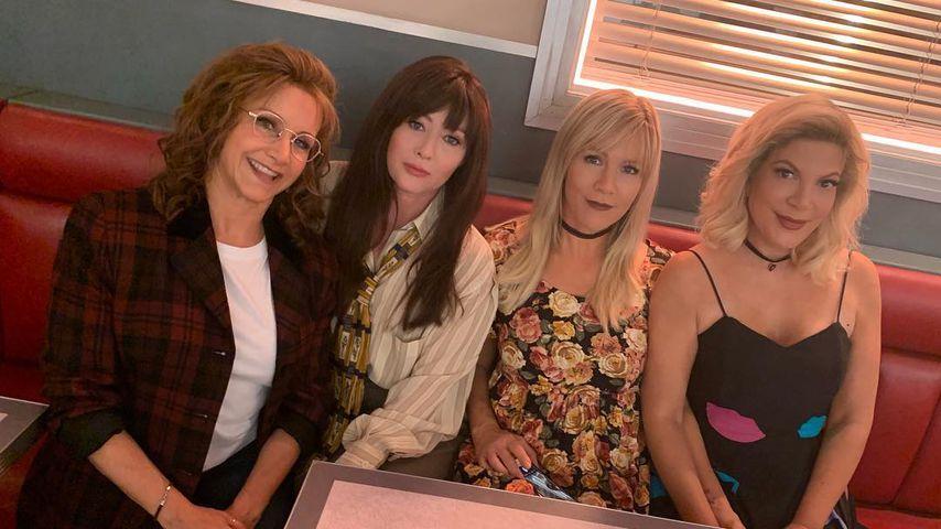 Dieses Mal mit Tori! Shannen Doherty teilt neues 90210-Pic