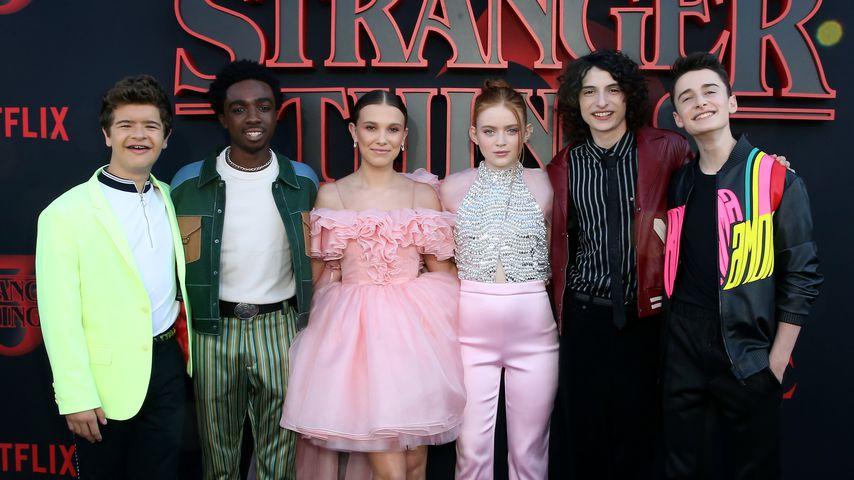 """Der Cast von """"Stranger Things"""" bei der Premiere der dritten Staffel, Juni 2019"""