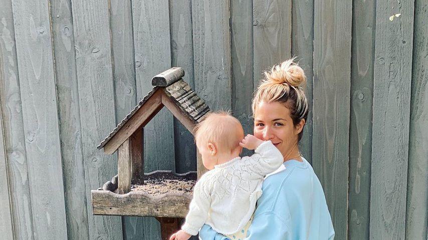 Gemma Atkinson mit ihrer Tochter Mia