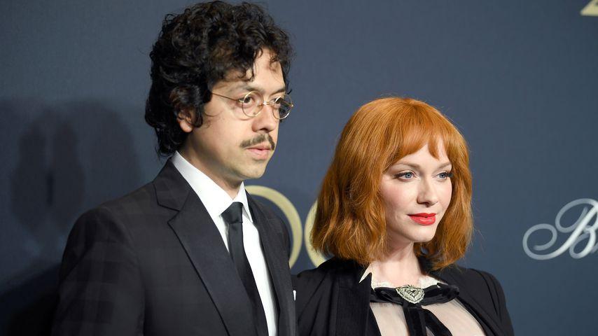 Geoffrey Arend und Christina Hendricks, Schauspieler