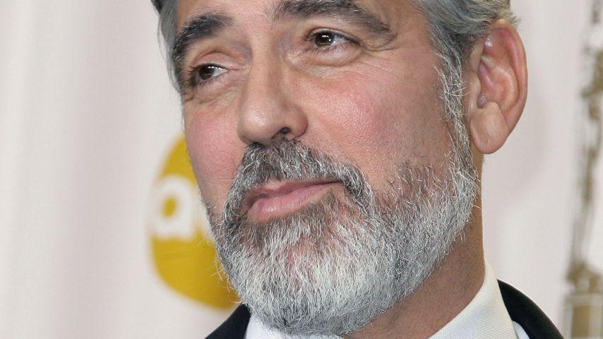 """George Clooney: """"Der Bart macht mich alt!"""""""