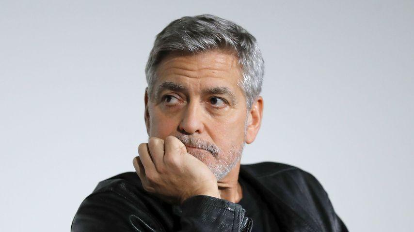 """George Clooney beim Screening von """"Catch-22"""""""